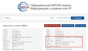 Проверка домена на занятость