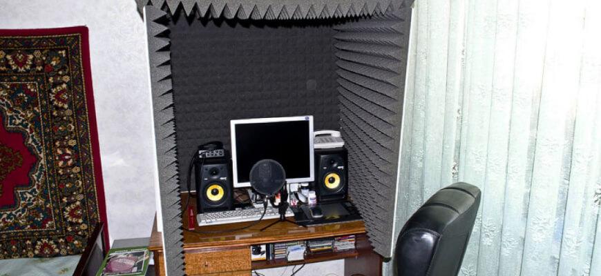 Домашний вариант студии звукозаписи.Как заработать на озвучке