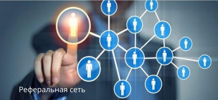 Заработок на рефералах-реферальная сеть