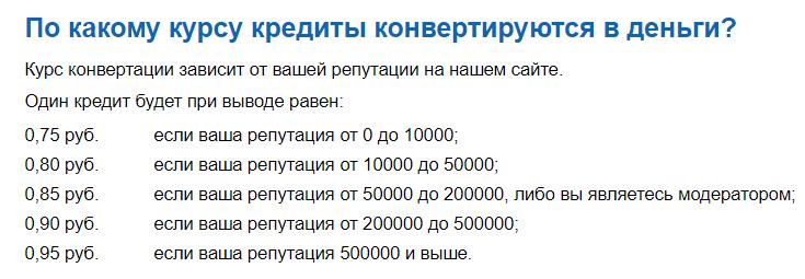 кредиты на большой вопрос