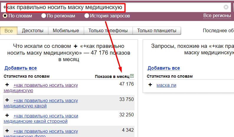 яндекс вордстат помогает  пользователям заработать задавая вопросы на сайтах
