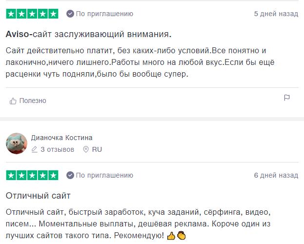 положительные отзывы про Авизо букс