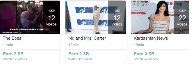 Цена за видео на Swagbucks